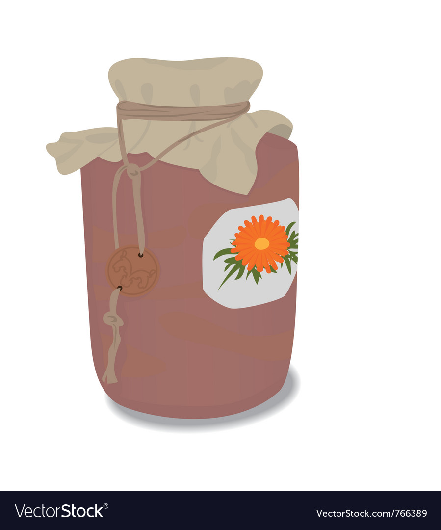 Clay jar vector | Price: 1 Credit (USD $1)