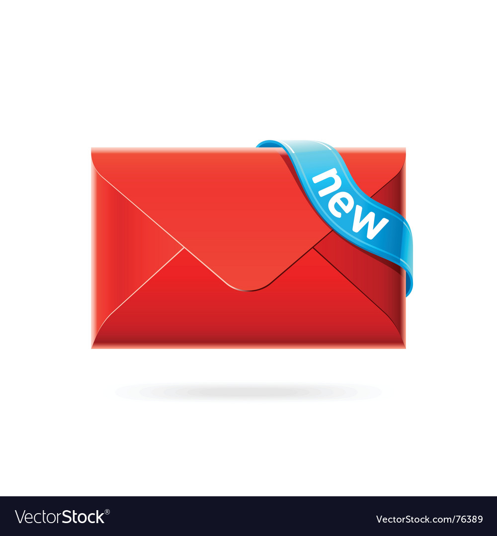 E-mail icon vector | Price: 1 Credit (USD $1)