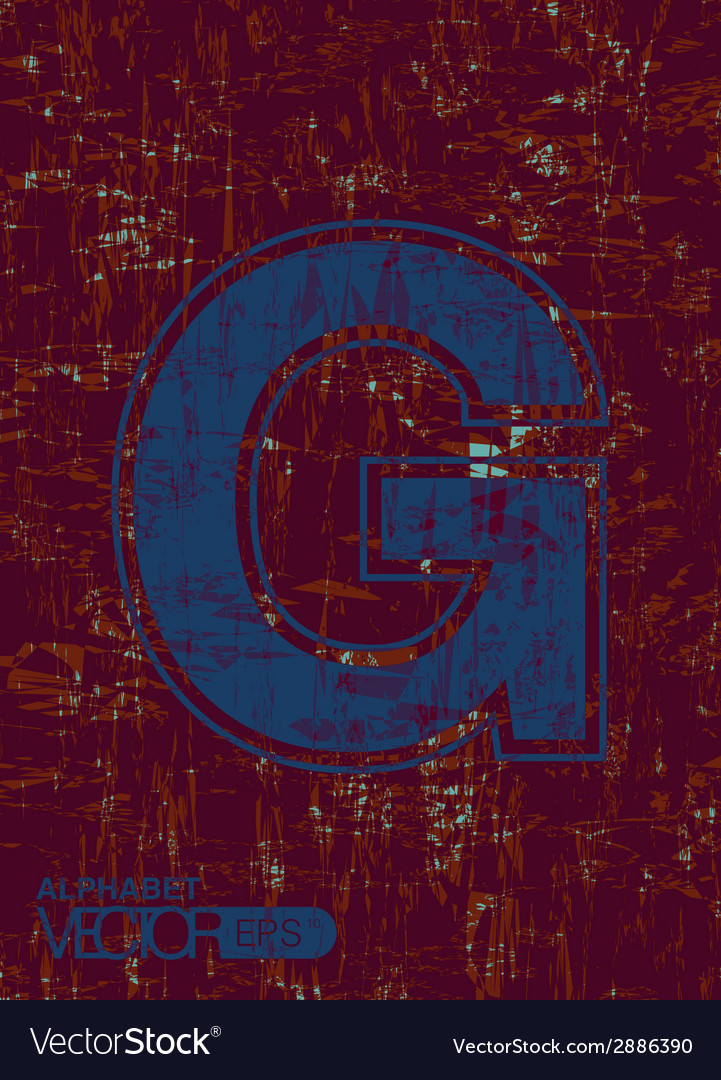 Alphabet g vector | Price: 1 Credit (USD $1)