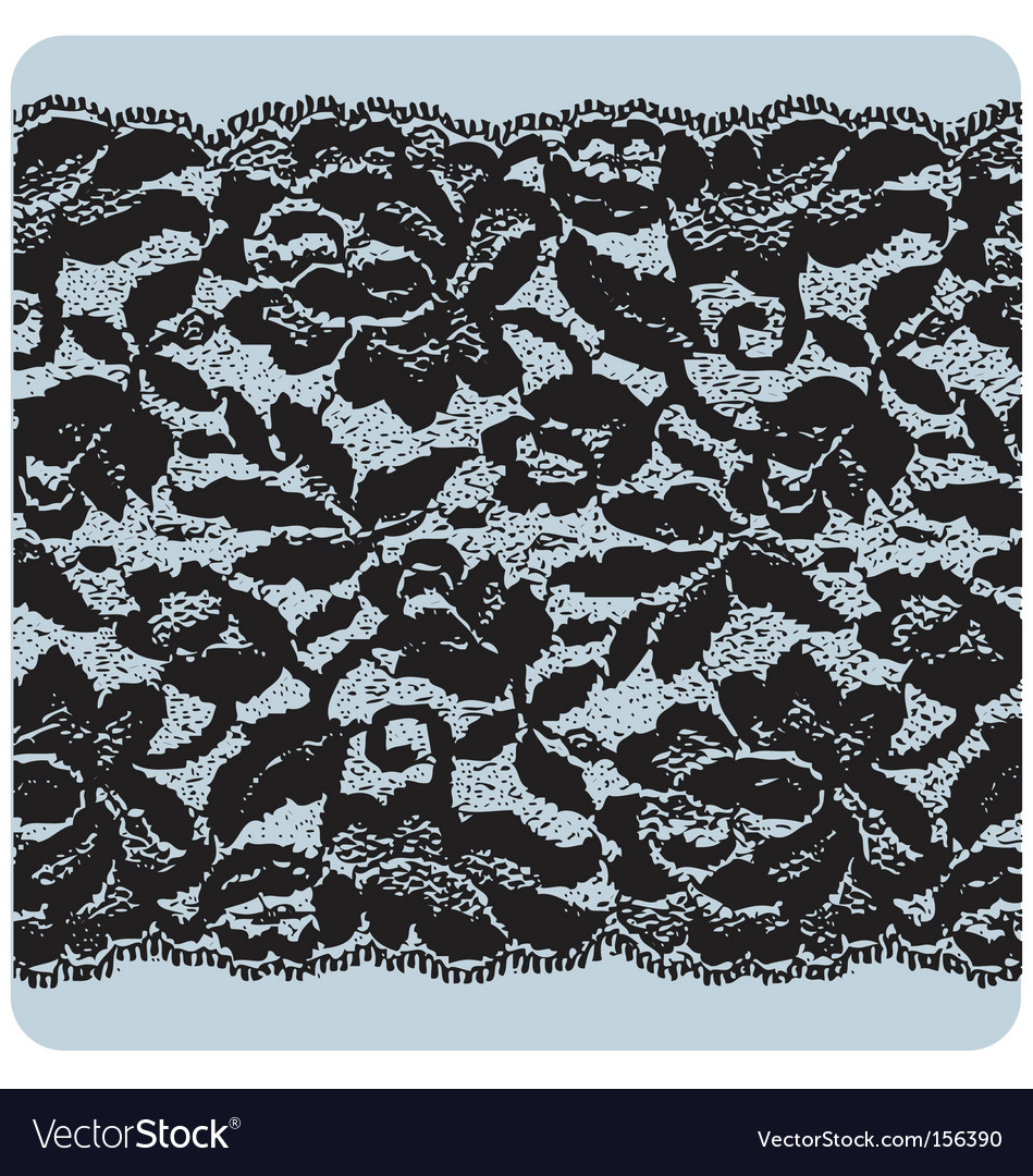 Black lace vector | Price: 1 Credit (USD $1)
