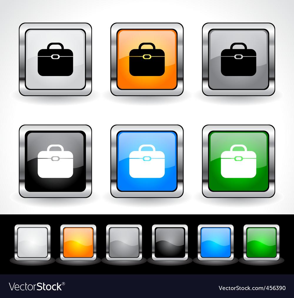 Metal square button vector | Price: 1 Credit (USD $1)