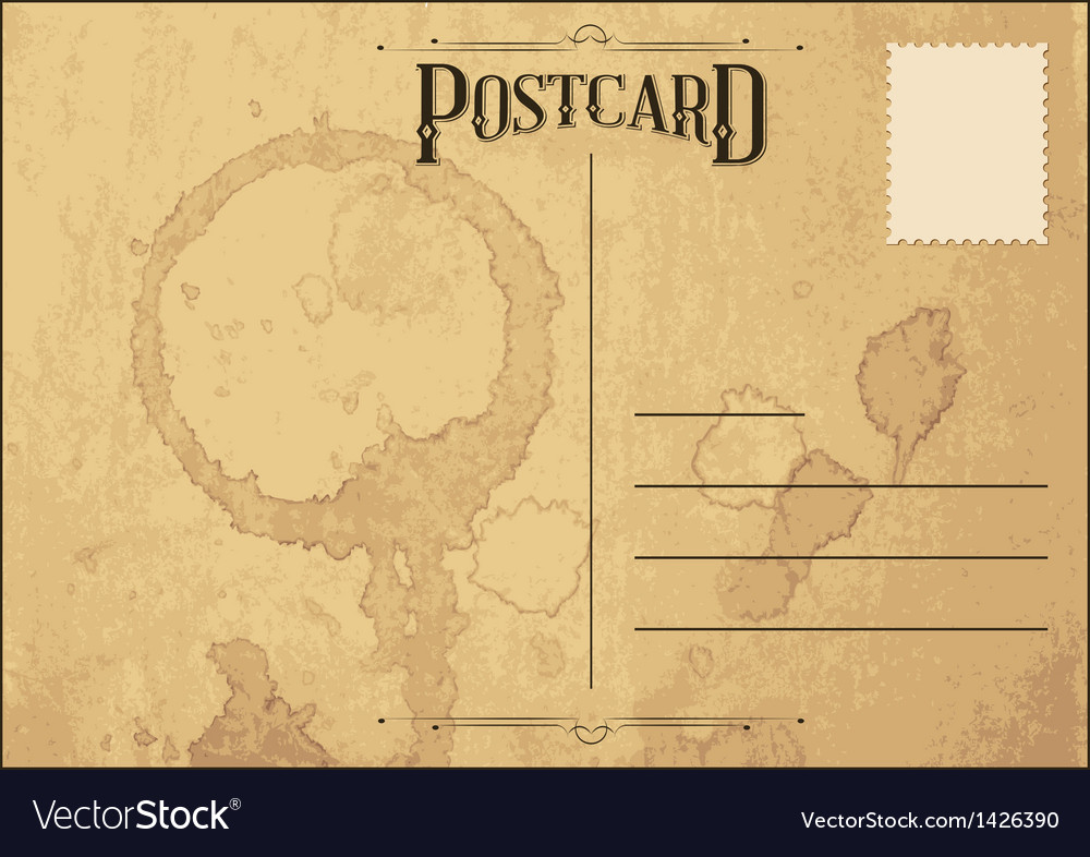 Postcard vector | Price: 1 Credit (USD $1)