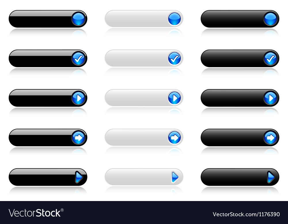 Web buttons vector | Price: 1 Credit (USD $1)