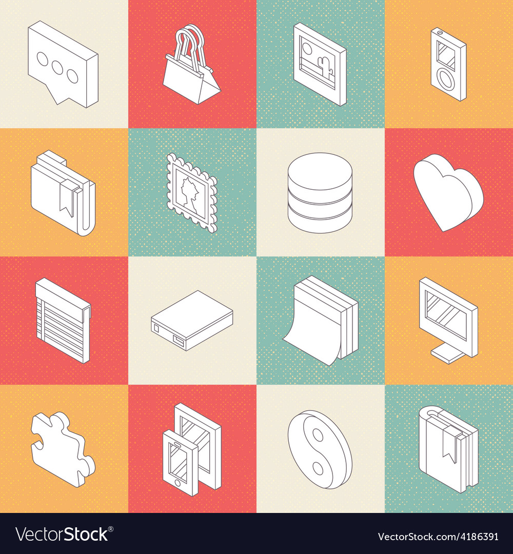 Modern flat icons 5 vector | Price: 1 Credit (USD $1)