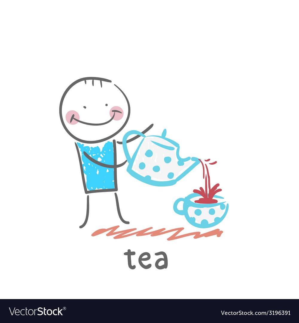 Tea vector   Price: 1 Credit (USD $1)