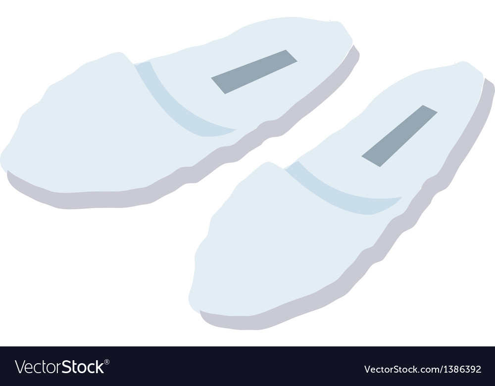 A view of a slipper vector | Price: 1 Credit (USD $1)