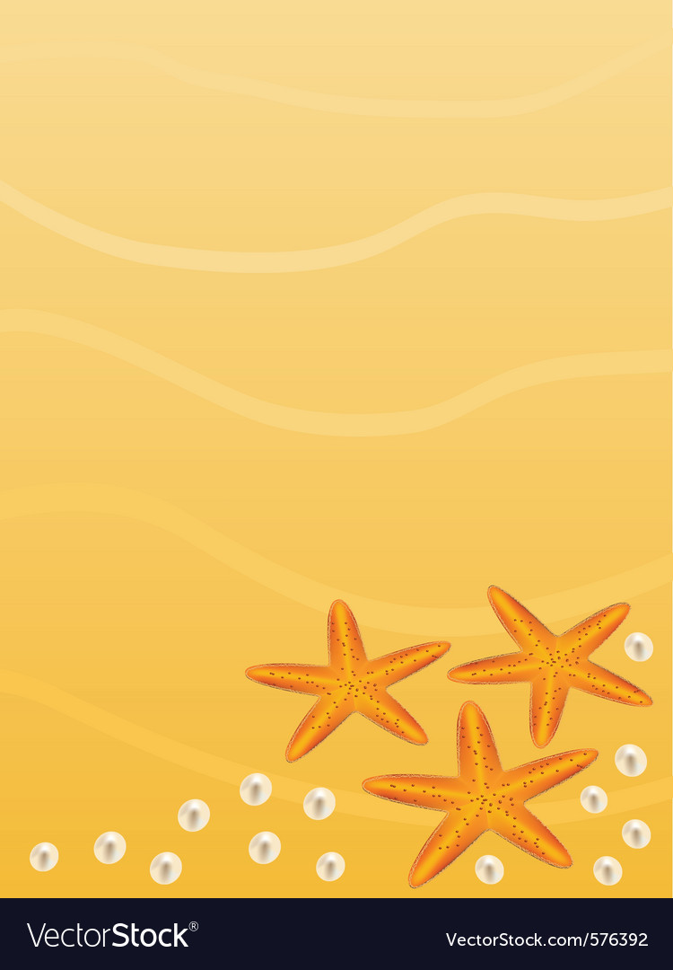 Beach background vector | Price: 1 Credit (USD $1)