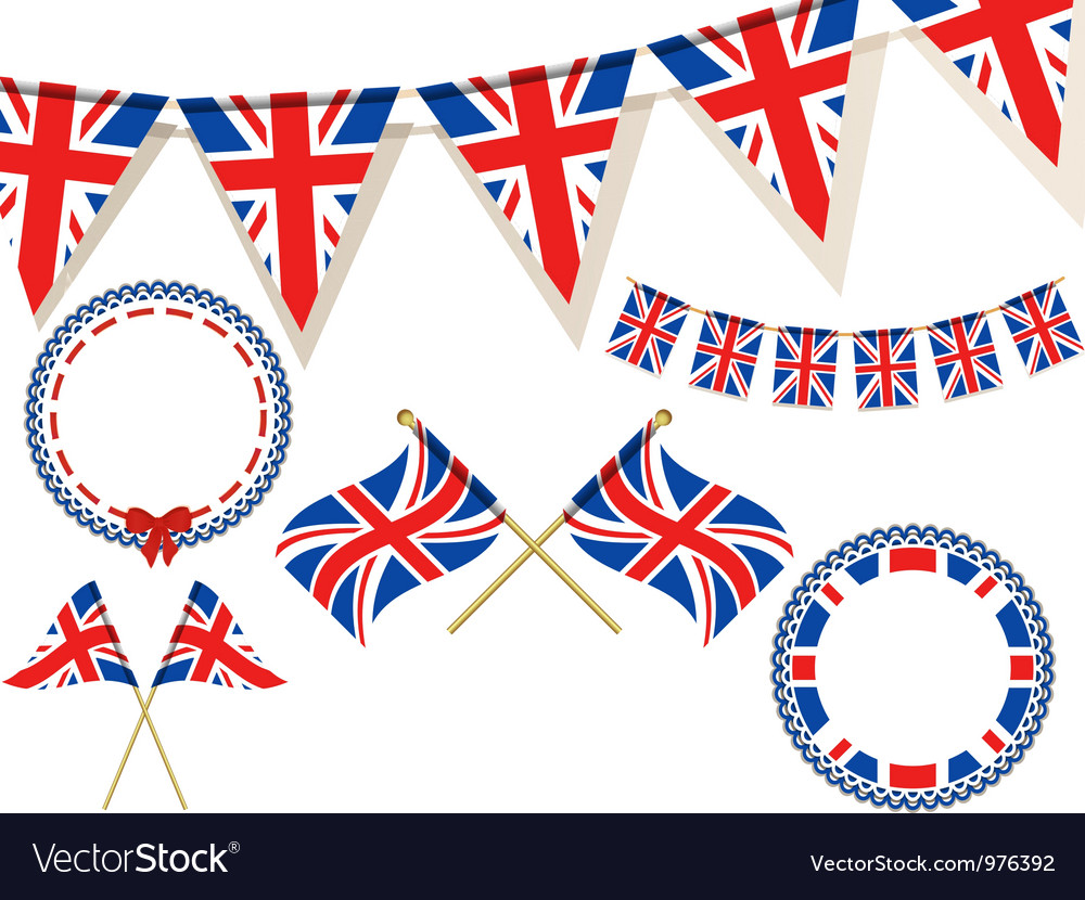 United kingdom flags vector | Price: 1 Credit (USD $1)