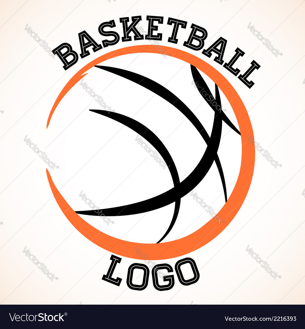 Basketball logo vector | Price: 1 Credit (USD $1)
