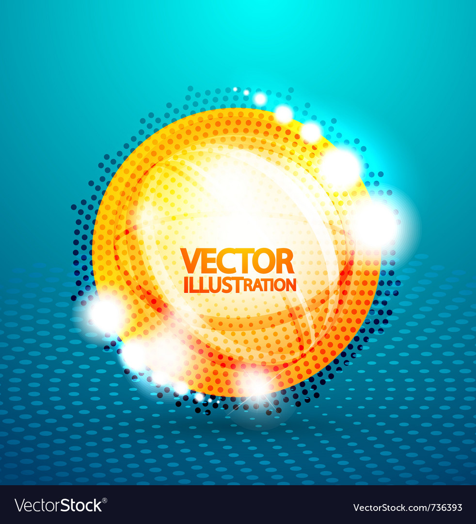 Bubble abstract background vector   Price: 1 Credit (USD $1)