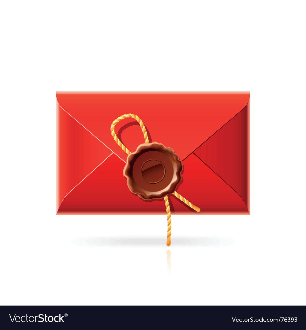 Confidential mail icon vector | Price: 1 Credit (USD $1)