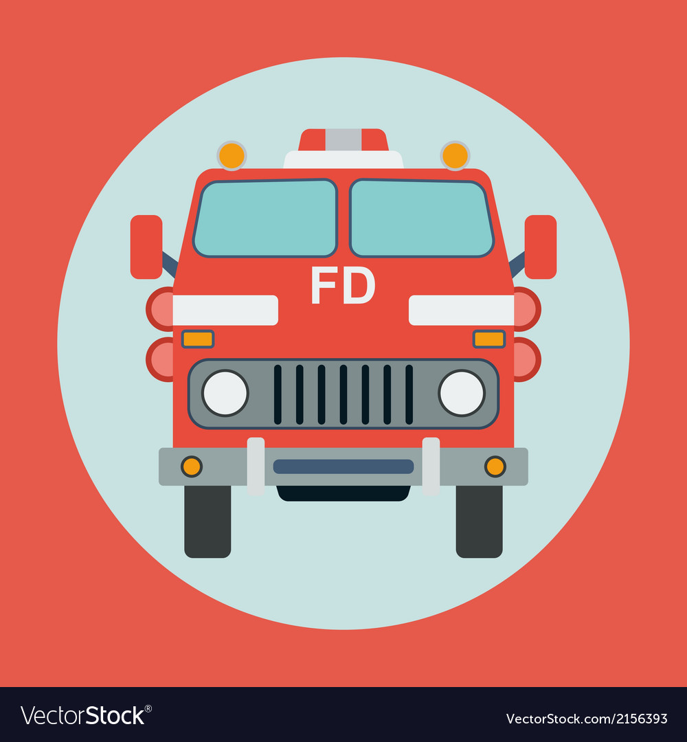 Fire truck vector | Price: 1 Credit (USD $1)