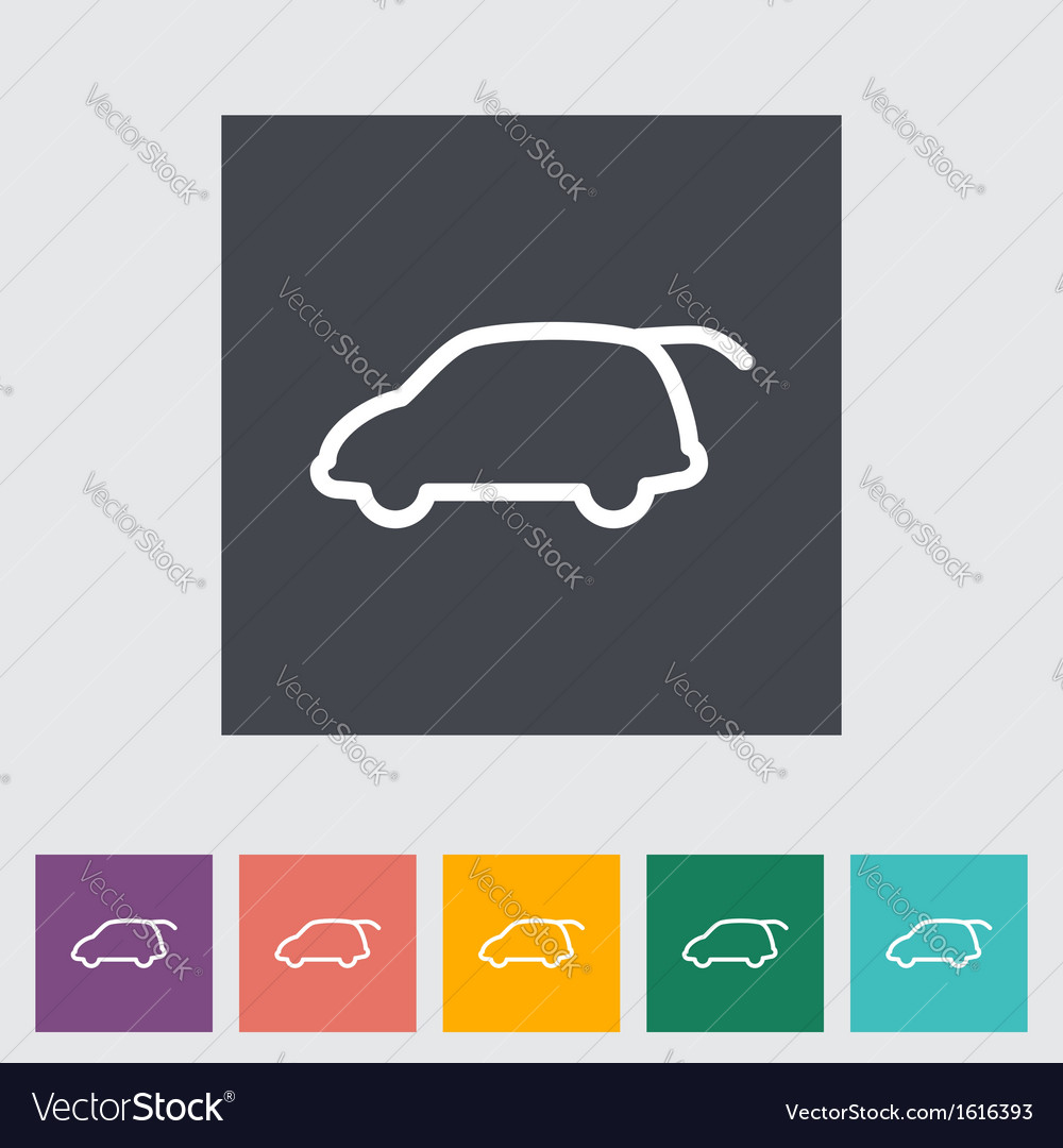 Liftgate car vector | Price: 1 Credit (USD $1)