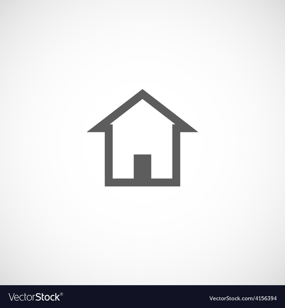 House building abstract real estate icon logo vector | Price: 1 Credit (USD $1)