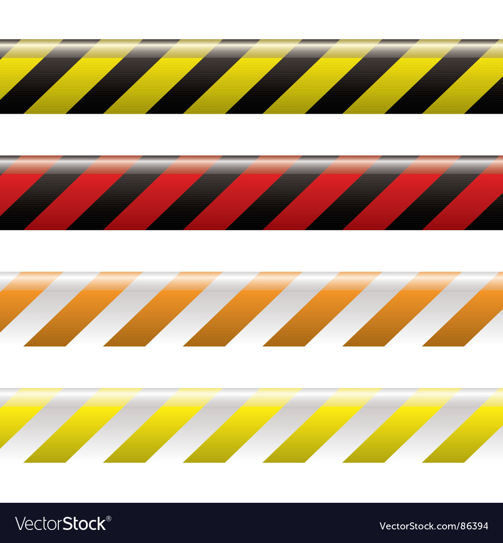 Warning tape vector | Price: 1 Credit (USD $1)