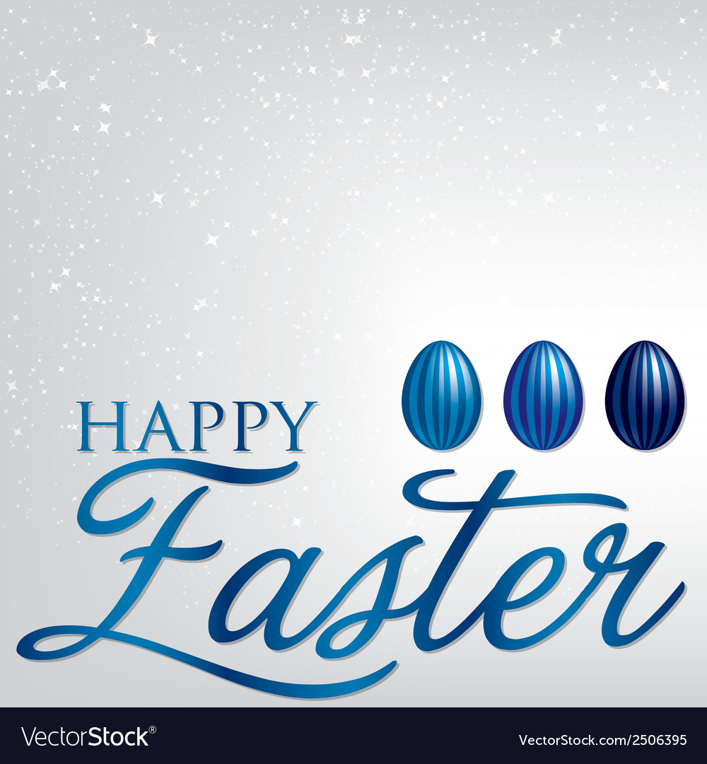 Elegant easter egg card in format vector | Price: 1 Credit (USD $1)