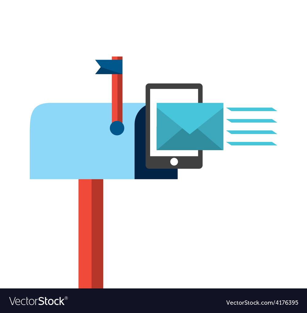 Mail concept vector | Price: 1 Credit (USD $1)