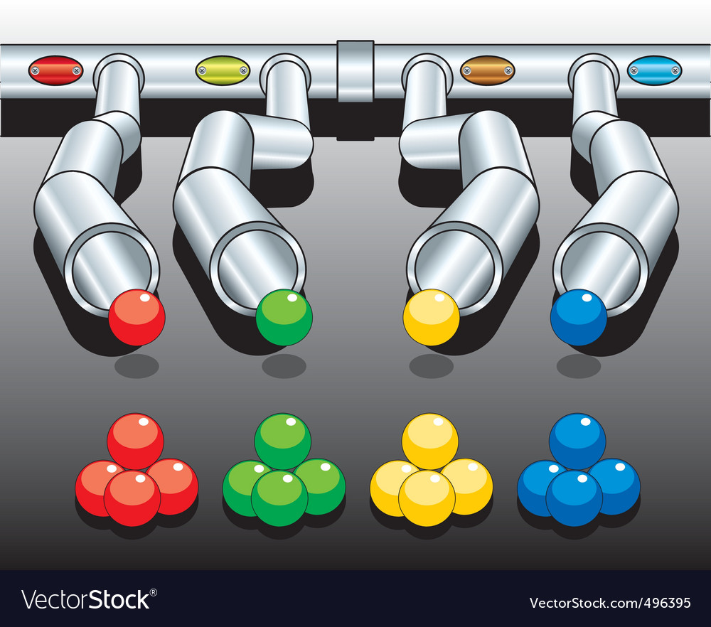 Pipes diagram vector | Price: 1 Credit (USD $1)