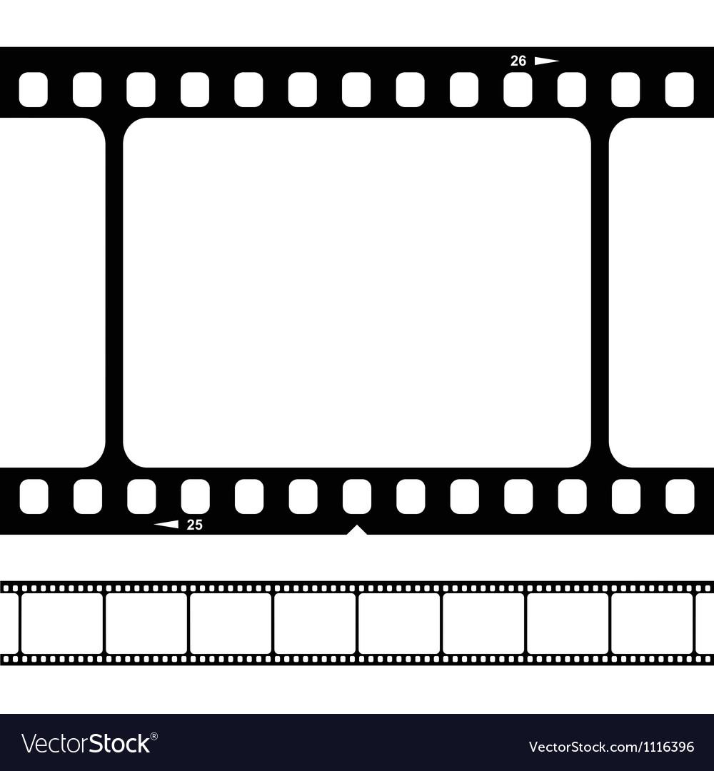 Blank 35mm film strip vector | Price: 1 Credit (USD $1)