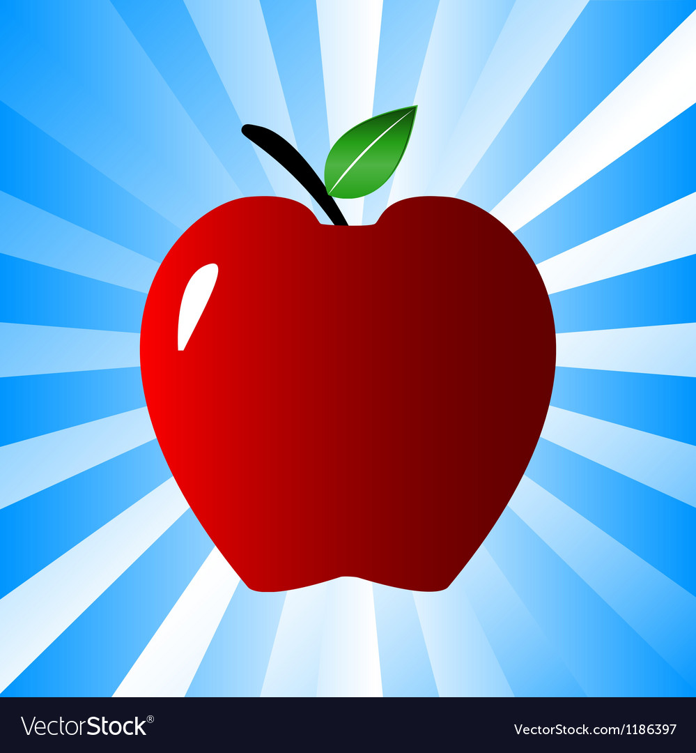 Big apple vector | Price: 1 Credit (USD $1)