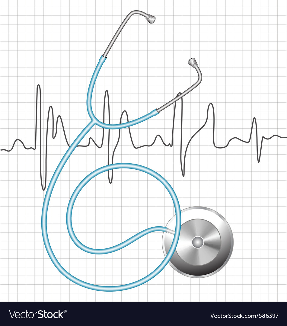 Stethoscope vector | Price: 1 Credit (USD $1)