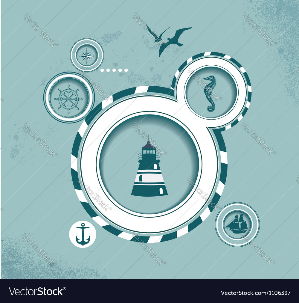 Web design bubble voyage subject vector | Price: 1 Credit (USD $1)