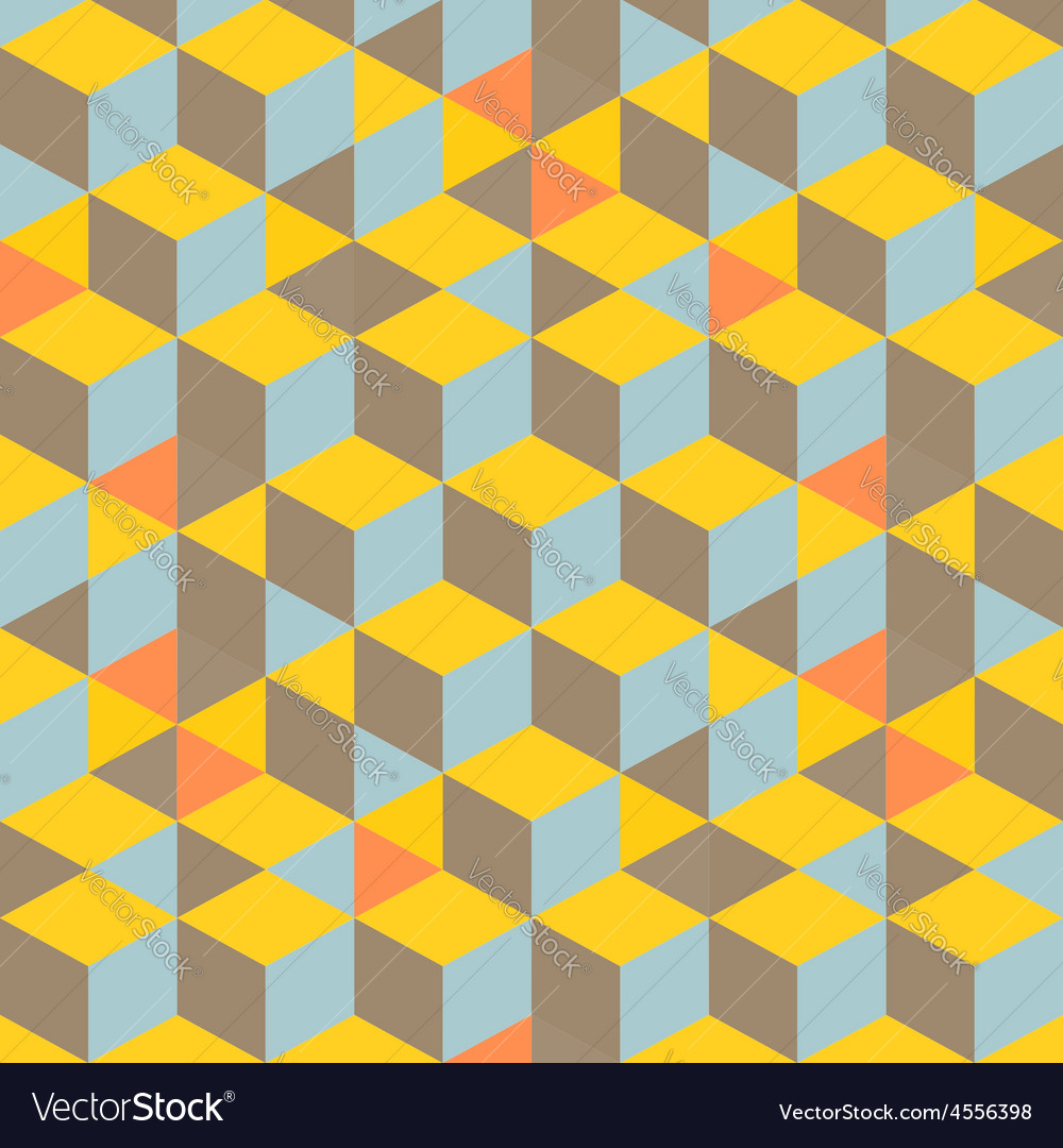 Abstract 3d background - wall of cubes vector | Price: 1 Credit (USD $1)