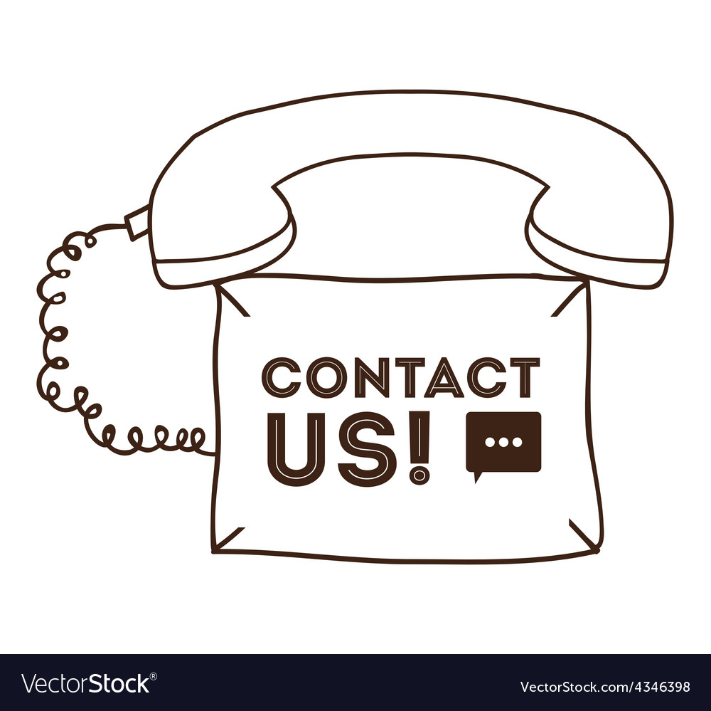 Contact us design vector   Price: 1 Credit (USD $1)