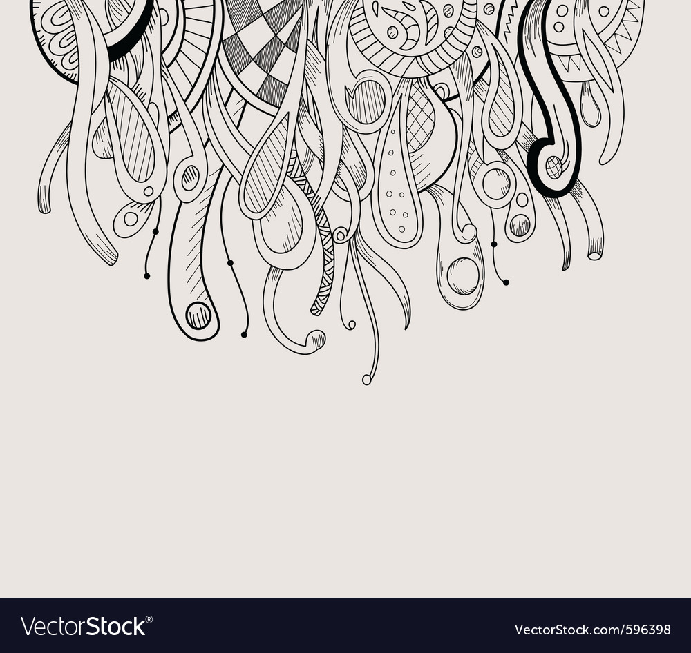 Sketched border vector | Price: 1 Credit (USD $1)