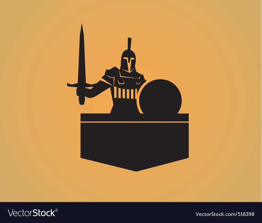 Spartan logo vector | Price: 1 Credit (USD $1)