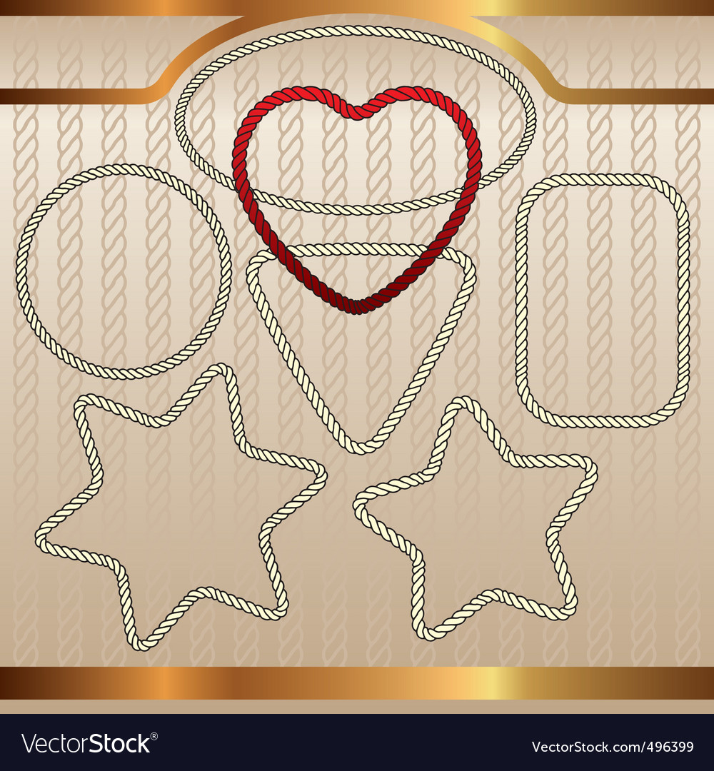 Ropes set vector | Price: 1 Credit (USD $1)
