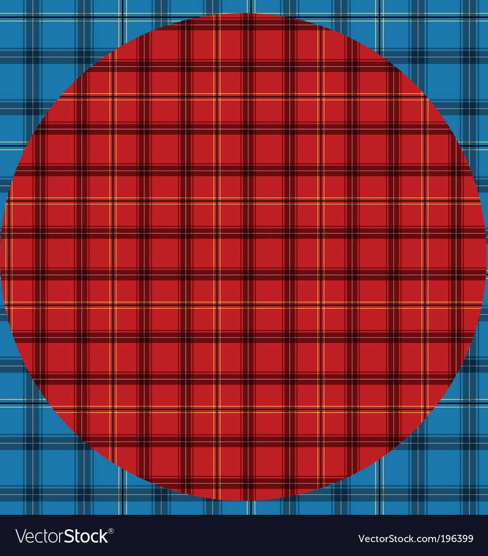Tartan vector | Price: 1 Credit (USD $1)