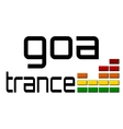 Goa trance dj equalizer music volume - alpha clear vector