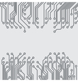Abstract background with a circuit board texture vector