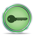 Key icon circle vector