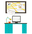 Home office vector