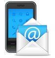 Send a letter icon vector