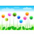 Flowers ii vector