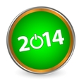 New year 2014 icon vector