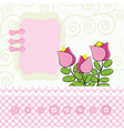 Abstract flowers background with place for your vector