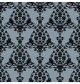 Background with seamless pattern vector