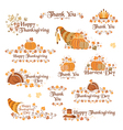 Tanksgiving day decorative elements vector