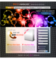 Abstract template vector