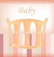 Baby document design vector