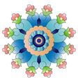 Ottoman art flowers twenty four vector
