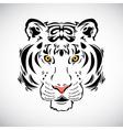 Tiger tattoo stylish ornate vector