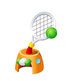 Icon tennis vector