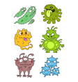 Microbes collection v2 vector