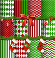 Big collection of christmas backgrounds vector