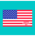 Independence day us of america 4th of july center vector